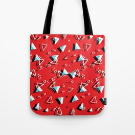 3D Chips Tote Bag
