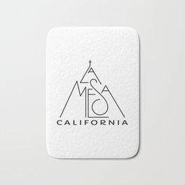 La Mesa, California (Mt Helix with Cross) Bath Mat
