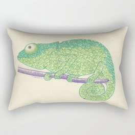 Chameleon? Rectangular Pillow