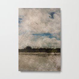 Windy Beach Day Metal Print