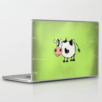 cow Laptop & iPad Skins featuring Cow by Mr & Mrs Quirynen
