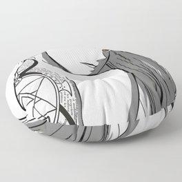 Anime Art - Riza's Looks Floor Pillow