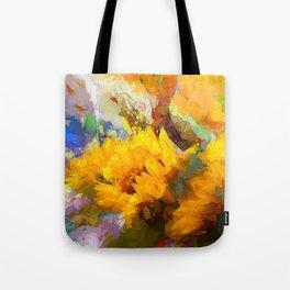 Sunflower 2018 Tote Bag