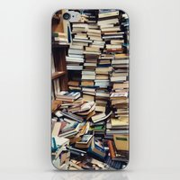 bookworm iPhone & iPod Skins featuring Bookworm by Lori Ratia