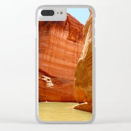 Antelope Canyon On Lake Powell Clear iPhone Case