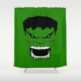 Minimalist Hulk Shower Curtain