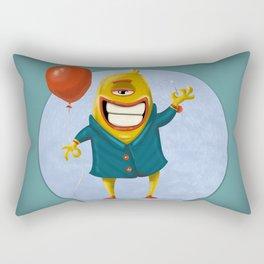Balloon detonator Rectangular Pillow
