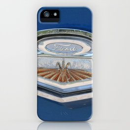 Vintage FORD Truck Badge iPhone Case