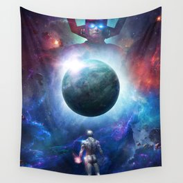 Silver Surfer Wall Tapestry