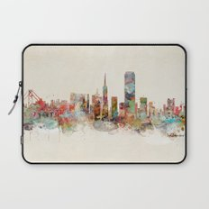 san francisco california Laptop Sleeve