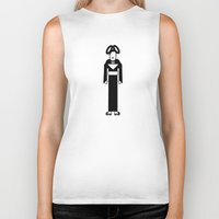 bjork Biker Tanks featuring Bjork by Band Land