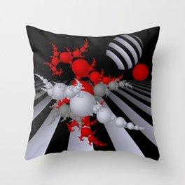 going mandelbrot -2- Throw Pillow