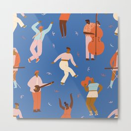 All Night Dance Party Metal Print