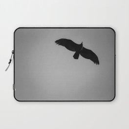 Bird In Flight Silhouette Laptop Sleeve