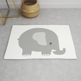 Elephant - Grey Rug