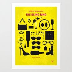 No784 My The Bling Ring minimal movie poster Art Print