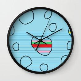 PEBBLES STONE Wall Clock