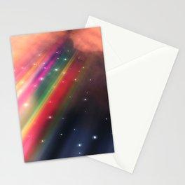 Under The Rainbow Sky Stationery Cards