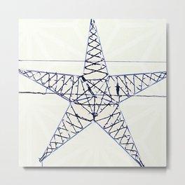 Classical sky Metal Print
