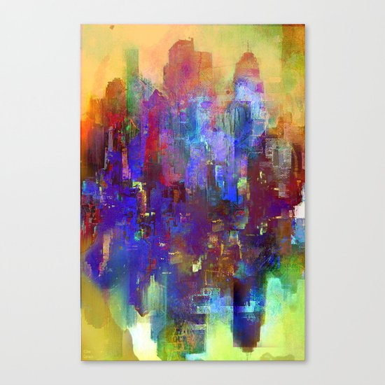 A new day comes Canvas Print