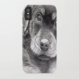 Black and White 8 iPhone Case