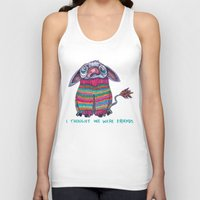 donkey Tank Tops featuring Donkey by Ruth Wels