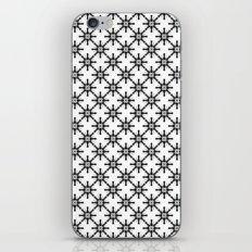 Black and White Custom Pattern 2 iPhone & iPod Skin