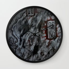 Room with no Exit Wall Clock