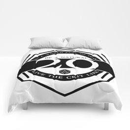 D20 Crit Life Be a Nat 20 Comforters