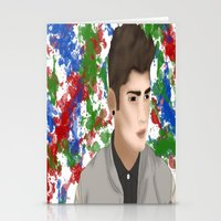 1d Stationery Cards featuring Zayn 1D by Maranda Rae