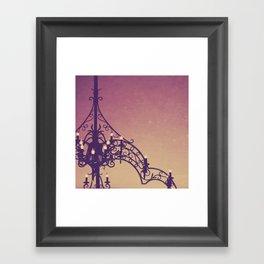 iron and light Framed Art Print