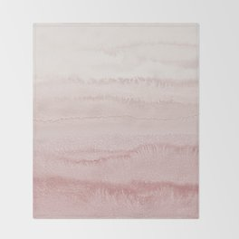 WITHIN THE TIDES - BALLERINA BLUSH Throw Blanket