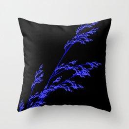 Nature,Minimal,blue Throw Pillow