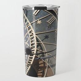 Astronomical clock Prague Travel Mug