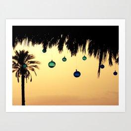 Desert breath Art Print