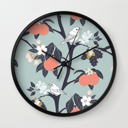 MAMA ROSA GARDEN - BIRD Wall Clock