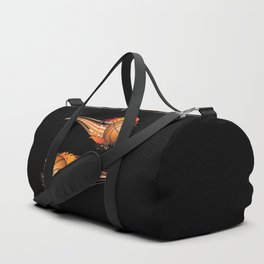 Basketball Fire Duffle Bag