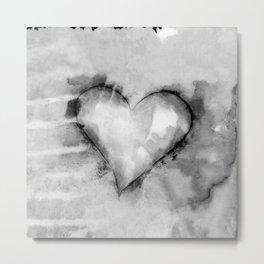 Love Unfolding No.26K by Kathy Morton Stanion Metal Print