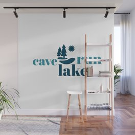 Simply Cave Run Lake Wall Mural