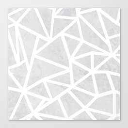 Ab Marble Zoom Canvas Print