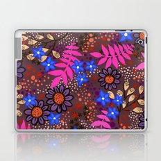 Midnight Forest Flowers Laptop & iPad Skin