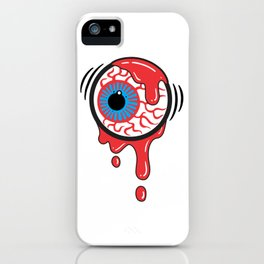 Bloody Eyeball iPhone Case
