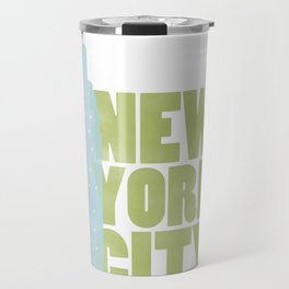 New York City - Empire State Travel Mug