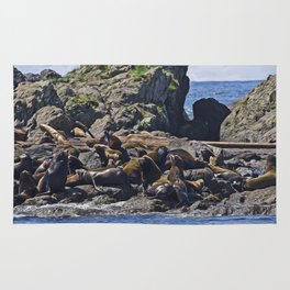 West Coast Art - Bathing Beauties Rug
