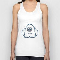 yeti Tank Tops featuring YETI by iwantdesigns