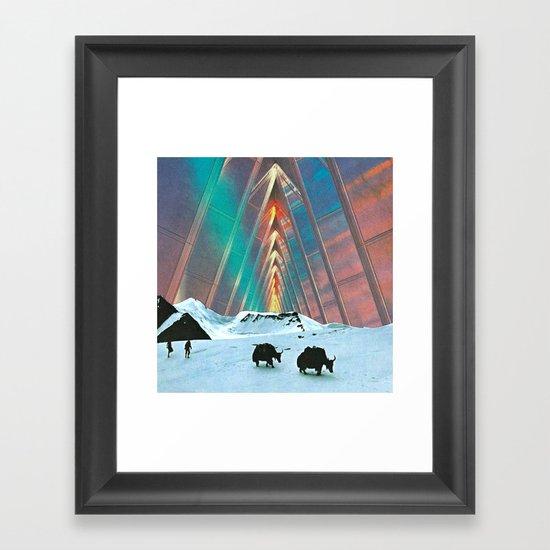 MILE 605 Framed Art Print