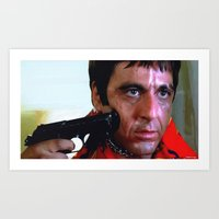 Al Pacino @ Scarface #1 Art Print