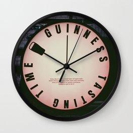 Guinness Taste Test Wall Clock