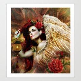 ANGEL KEL Art Print