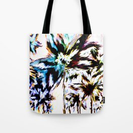 Palm Trees In Juno Tote Bag